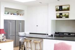 New kitchen as part of the Wimbledon refurbishment