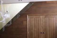 New doors as part of the Wimbledon refurbishment