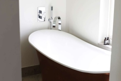 New bathroom as part of the Wimbledon refurbishment
