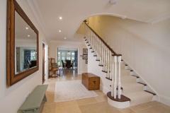 Hallway of new build Farnham house