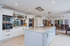 Luxury kitchen of new build house Farnham Surrey